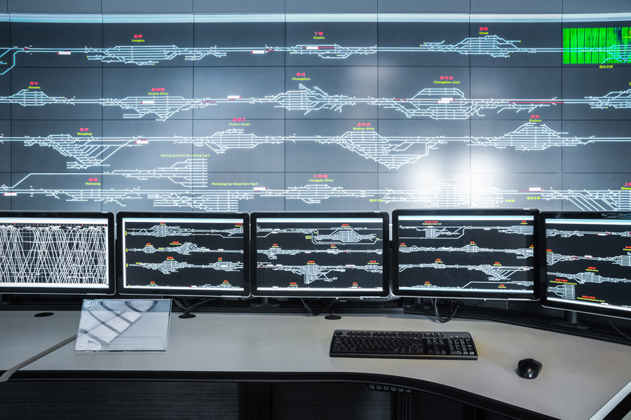CBTC system connectors
