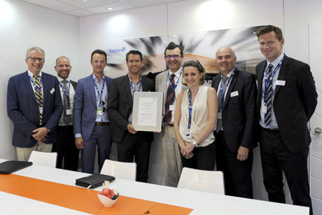 Fokker Award Supplier of the Year 2016